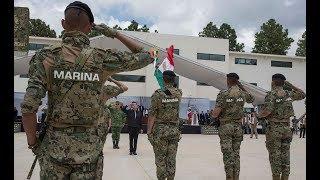 Encuentros con el Presidente - Entrega del Centro de Entrenamiento Avanzado de la Armada de México
