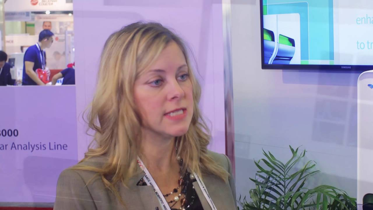 Sysmex XN-1000 Automated Hematology Analyzer with Krista Curcio at AACC 2016