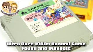 Ultra Rare Konami Famicom Title Found and Dumped