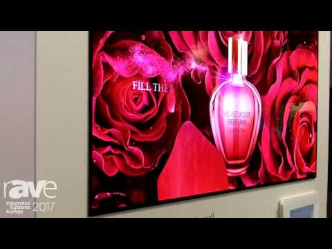 ISE 2017: LG Highlights OLED Wallpaper Display and In-Glass Application