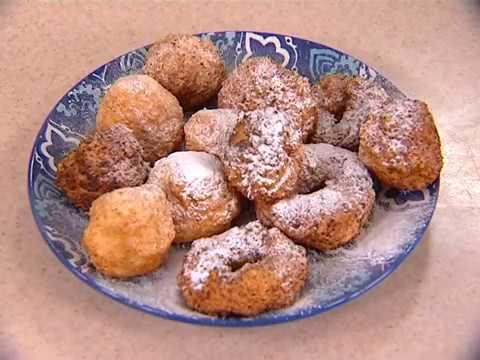 Творожные пончики на скорую