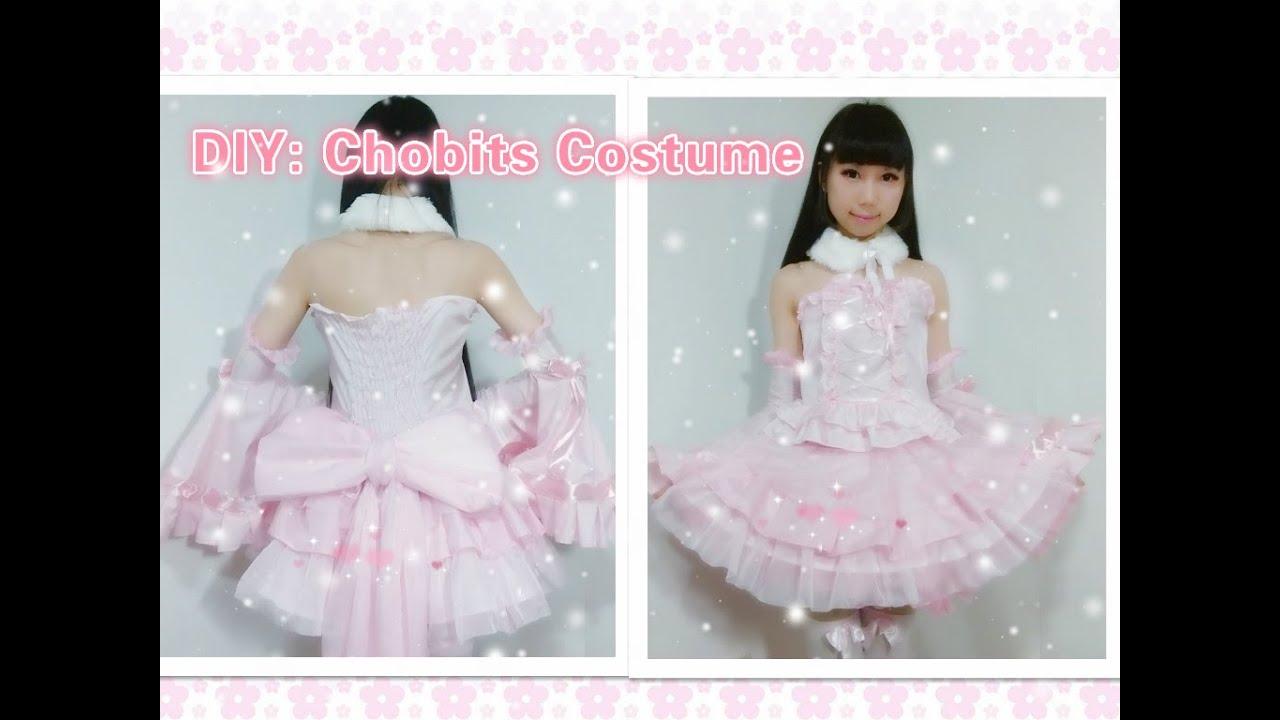 DIY Anime inspired Kawaii outfits-How to make Chobits Chii ...
