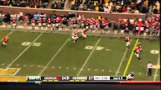 11/30/2013 Georgia vs Georgia Tech Football Highlights