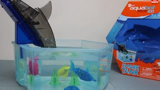 HexBug AquaBot 2.0 - Shark Tank detailed Play Test Review - Snapping, Catching, Splashing fun!