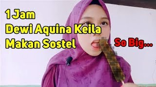 Download Video 1 Jam Dewi Aquina Keila Makan Sostel MP3 3GP MP4