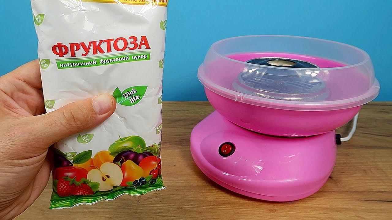 Что если в аппарат для сладкой ваты насыпать фруктозу вместо сахара? Эксперимент с муравьями!