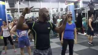 HITT class with SAS fitness uk