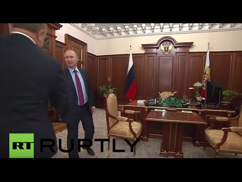 Russia: Putin meets Communist party leader Zyuganov for talks in Moscow