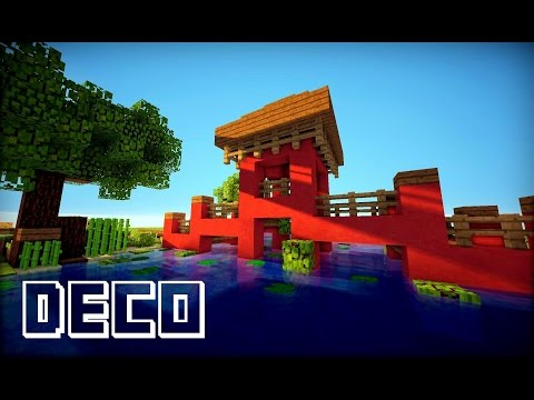 Minecraft temple chinois doovi for Maison moderne minecraft xbox one