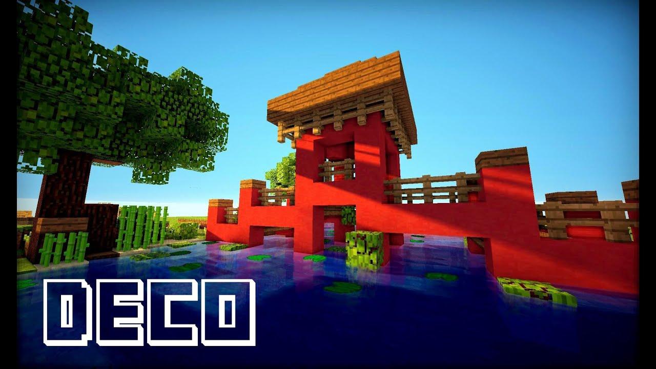 Tuto Temple Chinois Minecraft By Mrgeecks