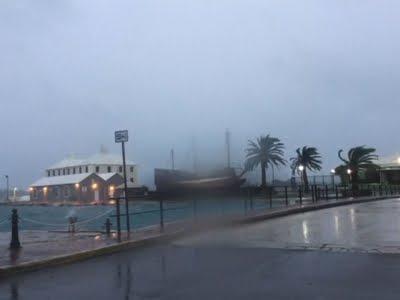 Raw Hurricane Nicole Nears Bermuda