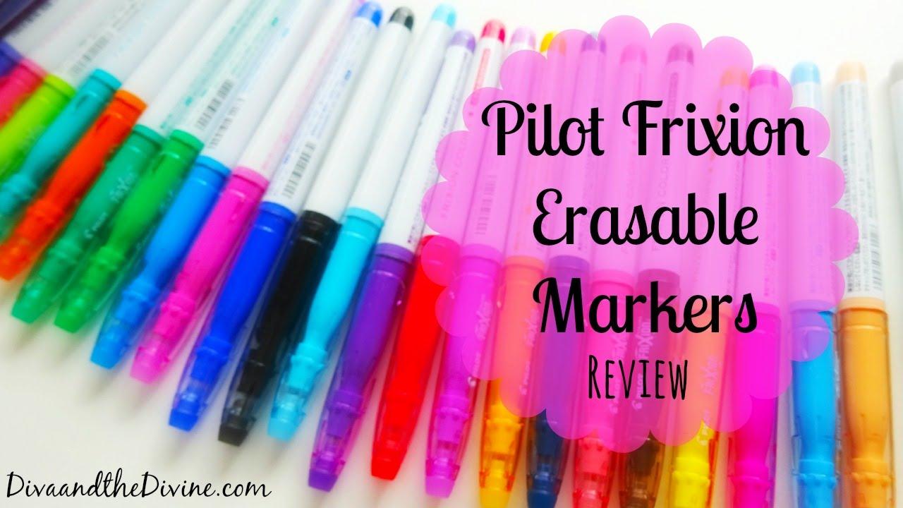 Pilot Frixion Erasable Markers Review