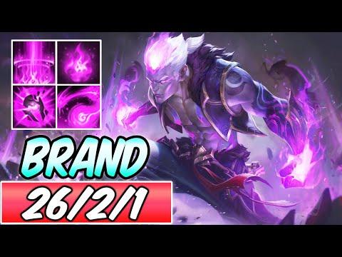 S+ ETERNAL DRAGON BRAND NEW SKIN | Best Build & Runes | BURST Brand Mid Gameplay | League of Legends