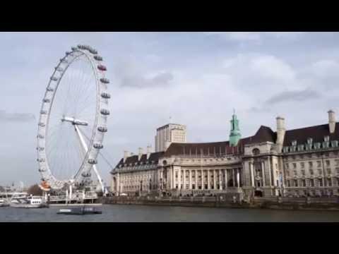 River Thames Cruise. Круиз по реке Темза в Лондоне.