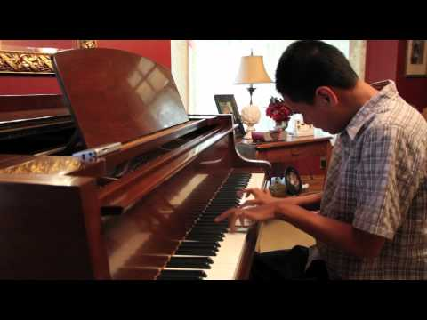 Kuha'o blind piano prodigy plays Dubstep Ellie Goulding Lights, Bassnectar Remix