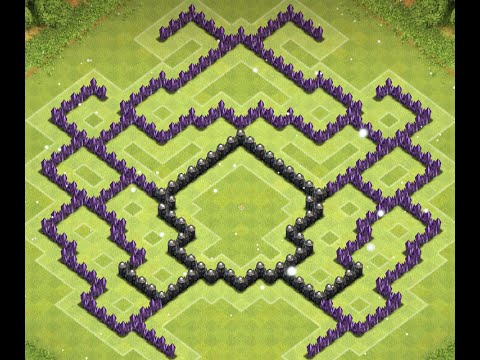 TH9 BASE BUILD - ONE XBOW, NO ARCH QUEEN, 4 MORTARS