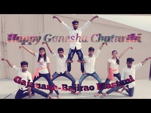 GAJANANA DANCE COVER- BAJIRAO MASTANI | FAMOUS GANESHA SONG | HAPPY GANESH CHATURTHI
