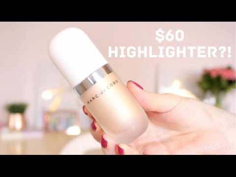 Marc Jacobs Dew Drops Coconut Gel Highlighter Review | Maddy Kupiec