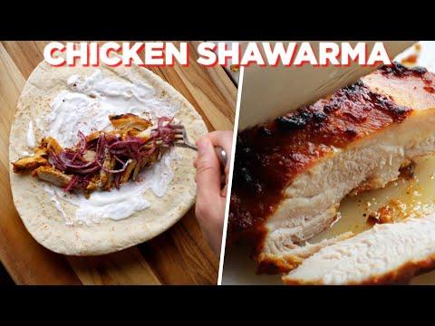 The Best Homemade Chicken Shawarma Recipe