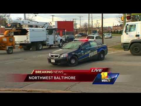 Video: Man shot in the arm in northwest Baltimore