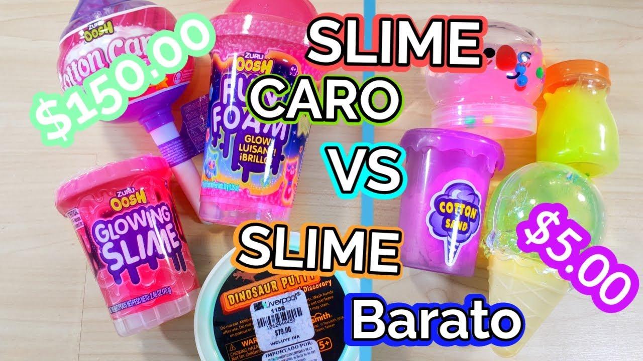 Slime Caro de Liverpool VS Slime Barato de el Walmart (ME SALIERON HORRIBLES😭)