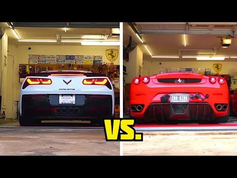 Buying a Ferrari F430 is cheaper than buying a Corvette Z06