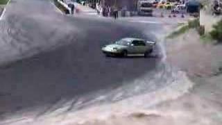 備北ハイランドサーキットで開催された FFドリフト西日本統一戦の走り ...