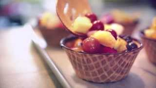 Velata Recipe Of The Month—august 2013 Fruit Salad Waffle Bowls!