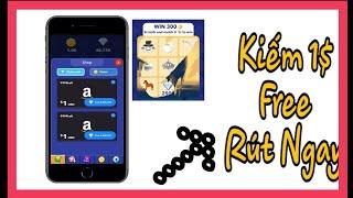 Cào Thẻ Kiếm 1$ Paypal, Gift Amazone Rút Ngay | Kiếm Tiền Online Dễ Dàng
