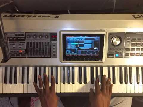 Practicing 1-5-6-4 chord progression in all keys