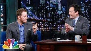 Chris Pratt Has Kind Words for Jimmy (Late Night with Jimmy Fallon)