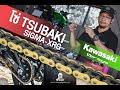 โซ่ สึบาคิ Tsubaki chain 520 Sigma ทดสอบใส่ Kawasaki versys 650