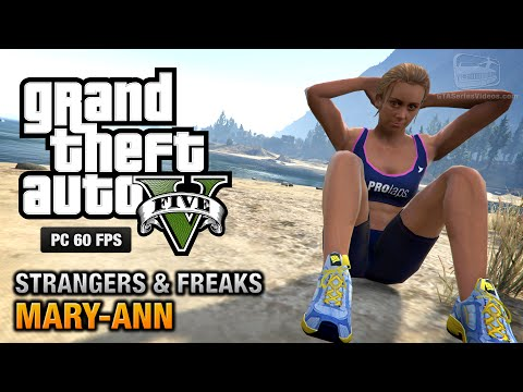 GTA 5 PC - Mary-Ann [100% Gold Medal Walkthrough]