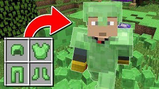 How to get SLIME BLOCK ARMOR!