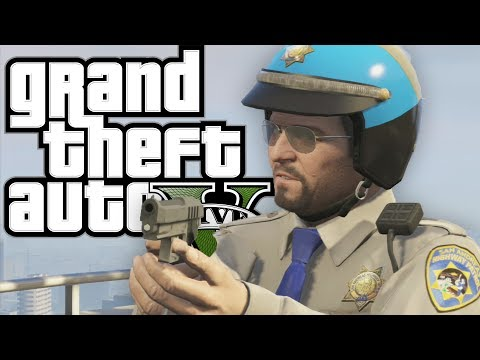 GTA 5 - Working WITH the POLICE (Funny Moments In Grand Theft Auto V)