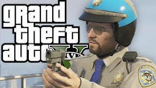 gta 5 working with the police funny moments in grand theft auto v