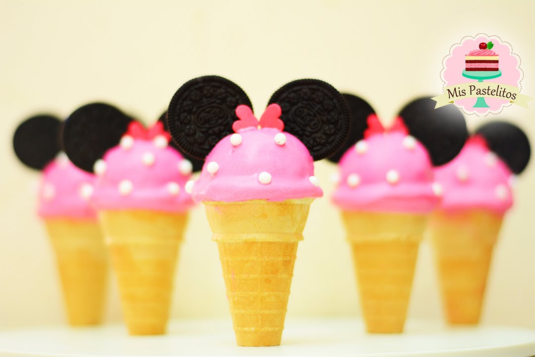Mickey Minnie Mouse Cake Pops