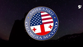 Georgia welcomes Trump / America first - Georgia Second