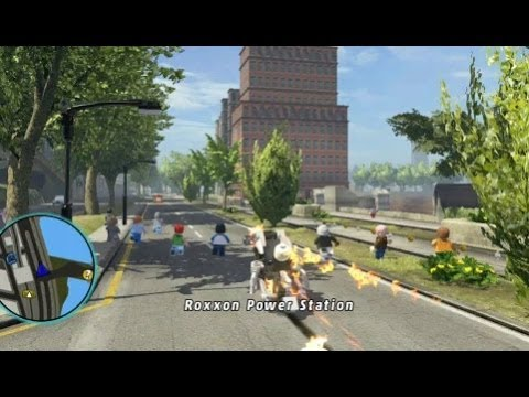 LEGO Marvel Super Heroes - Unlocking Ghost Rider's Motorcycle (All Ghost Rider Missions) Travel Video