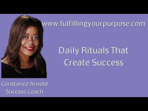 Daily Rituals That Create Success