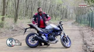 Yamaha MT-25 249cc Test Sürüşü ve Teknik Bilgiler 3 Şerit'te