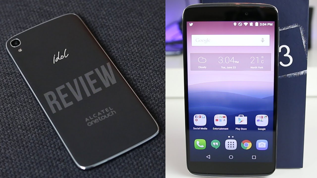 Alcatel OneTouch Idol 3 Review: A Good Phone for a Great Price!