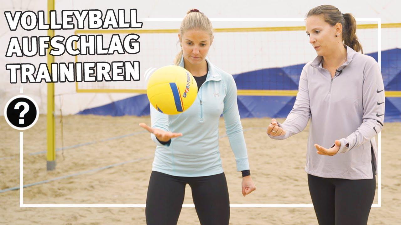 Volleyball Aufschlag Erklart Technik Von Unten Und Oben Schulsport Vereinssport Sport Thieme Youtube