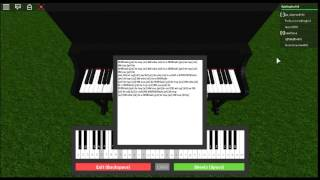 Roblox Virtual Piano) Fur Elise + Sheets