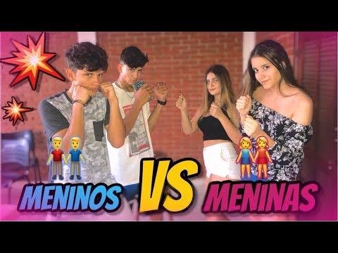 MENINOS VS MENINAS: DESAFIO DO FUNK + DANÇA thumbnail