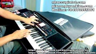 Nhạc Hòa Tấu Organ|| Liên Khúc Tết 2017 Trữ Tình  - Nguyễn Kiên Music