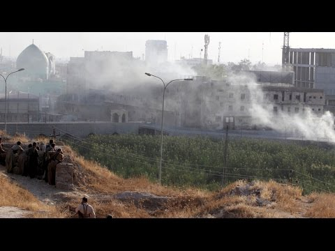 ISIS attacks Kirkuk as battle for Mosul continues