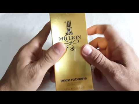 ea43ae4cdd Perfume Masculino 1 One Million 100ml 100% Original - YouTube