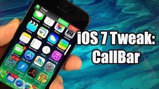 iOS 7 Jailbreak Tweaks: CallBar