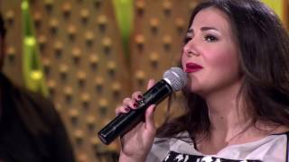 أغنية قصة شتا - دنيا سمير غانم - SNL بالعربي